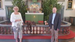 Vi tackar kantor Pia Nilsson och komminister Henrik Jonsson.