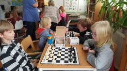 Vi fick flera schackspel